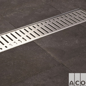 "Решітка ACO ShowerDrain C 585 мм, ""хвиля"", AISI 304"
