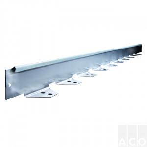 Садовий бордюр ACO Self edging з оцинкованої сталі, 1м
