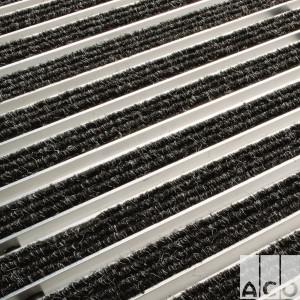 """Решітка алюмінієва з войлочним покр. 60х40 VARIO (колір """"антрацит"""")"""
