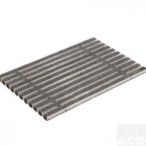 """Решітка алюмінієва з войлочним покр. 60х40 VARIO (колір """"світло-сірий"""")"""