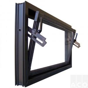 Вікно ACO Kipp 60х40, коричневе