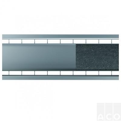 """Решітка з нержавіючої сталі під заповнення """"плитка"""" 0,5м."""