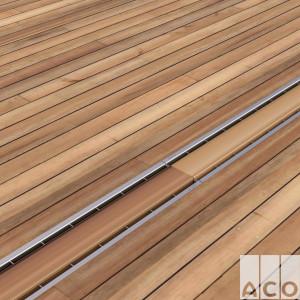 """Решітка з нержавіючої сталі під заповнення """"дерево"""" 0,5м."""